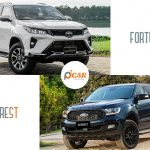 so sanh xe fortuner va everest