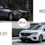 so sanh xe mazda 2 va honda city