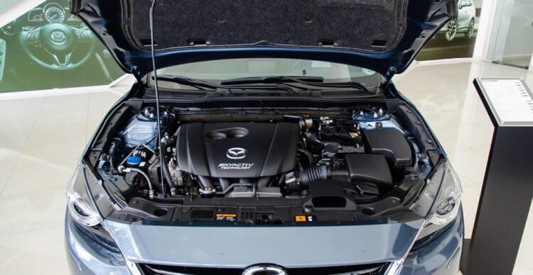 Đánh giá Mazda 3 2016 động cơ