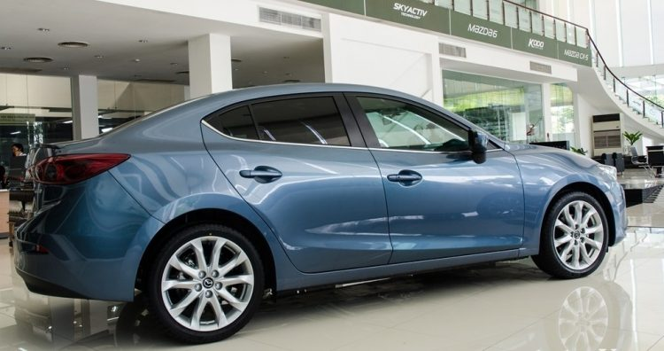 Đánh giá Mazda 3 2016 thiết kế thân xe