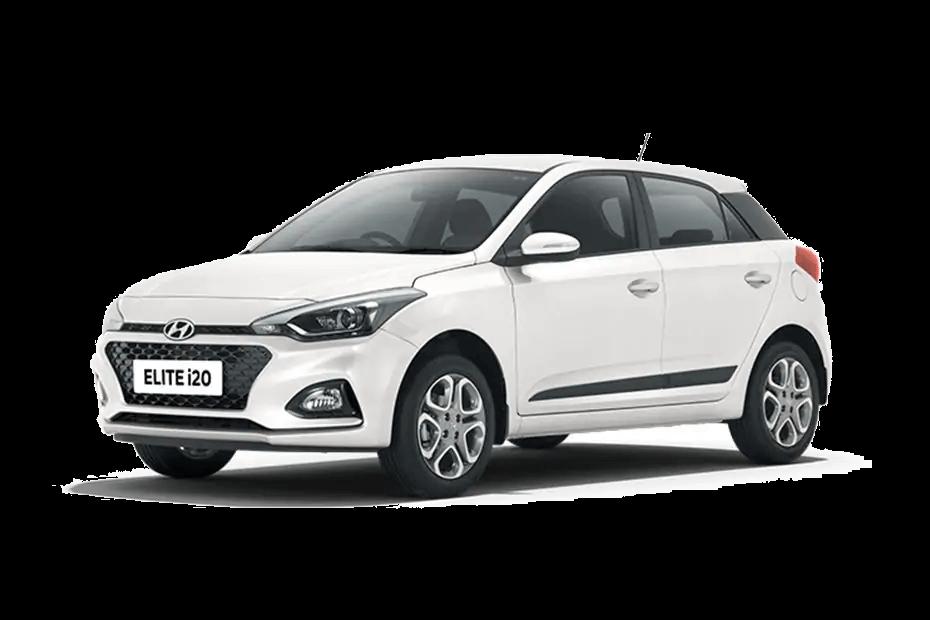Hyundai ELITE i20 Polar White