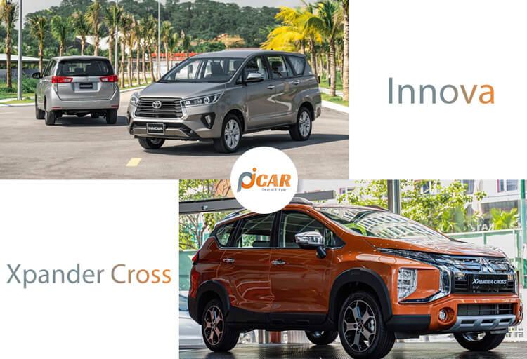 So sanh Xpander Cross va Innova