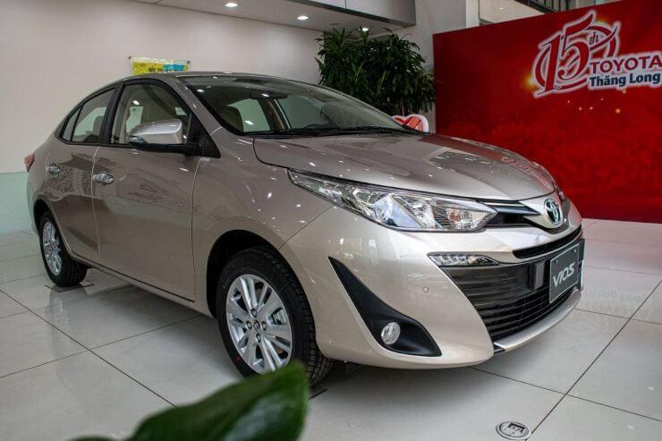 So sanh cac phien ban Toyota Vios ve ngoai that