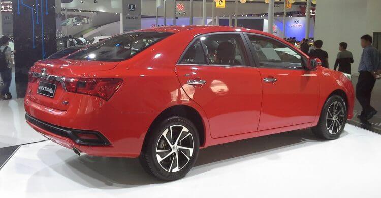 Zotye Z300 facelift