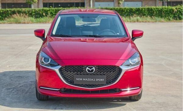 Đánh giá Mazda 2 2020 phần đầu xe
