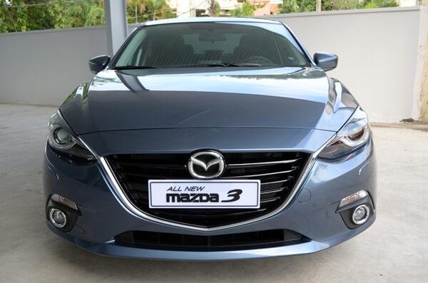 Đánh giá Mazda 3 2015 về phần đầu xe
