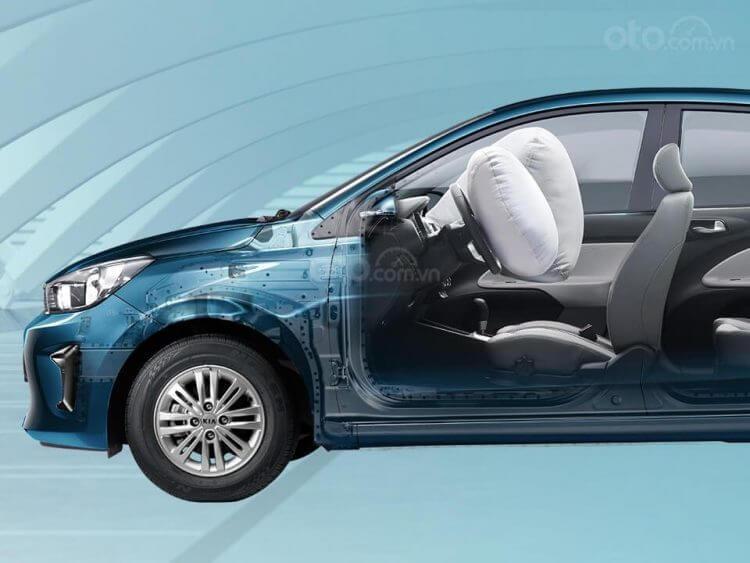 Đánh giá xe Kia Soluto 2019 về trang bị an toàn