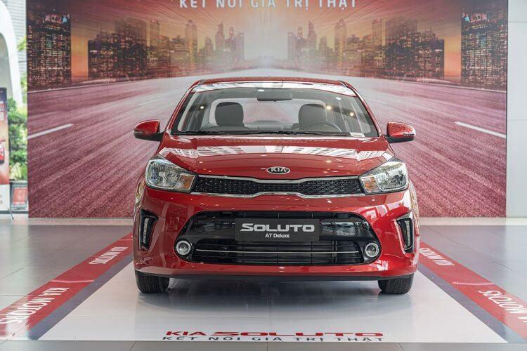 Đánh giá xe Kia Soluto 2019 về đầu xe