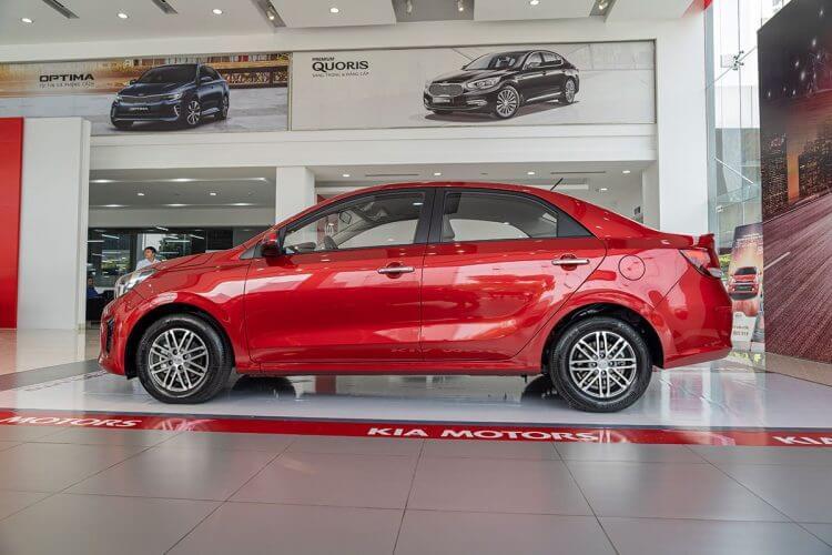 Đánh giá xe Kia Soluto 2019 về thân xe