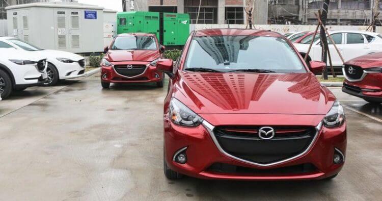 đánh giá ngoại hình xe Mazda 2 2020