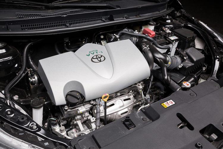 so sánh Toyota Vios và Kia K3 về động cơ