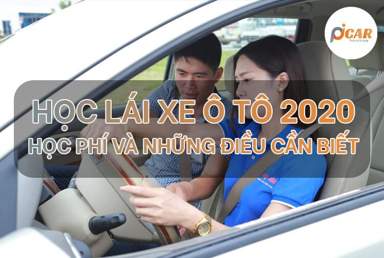 thi bằng lái xe ô tô 2020 học phí và những điều cần biết