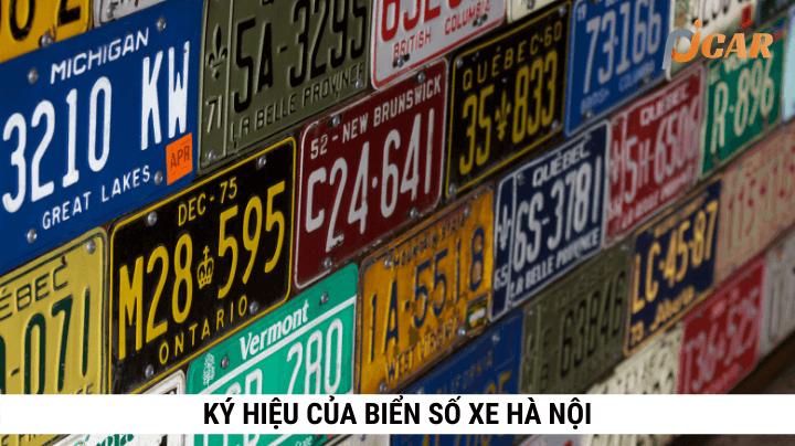 Ký hiệu của biển số xe Hà Nội