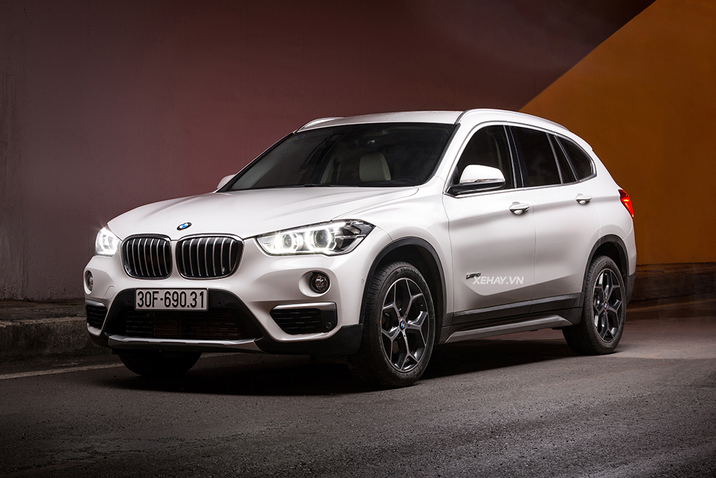 BMW X1 ngoai hinh