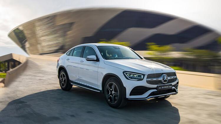 Cac dong Mercedes Benz GLC tai Viet Nam