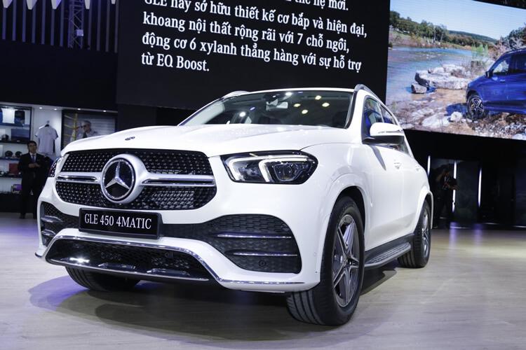 Cac dong Mercedes Benz GLE tai Viet Nam