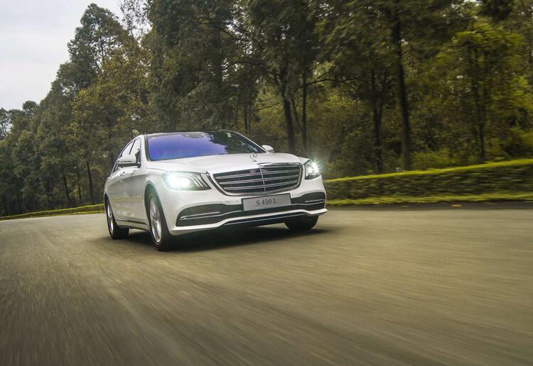 Gia lan banh xe Mercedes Benz S Class S 450L