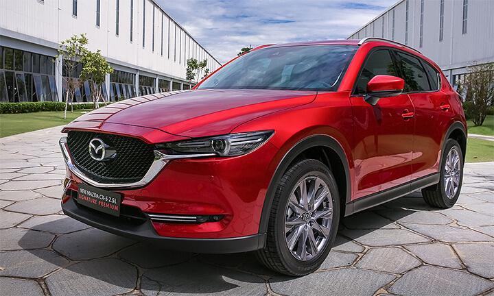 Mệnh thổ hợp màu gì khi mua xe hơn Mazda CX-5 màu đỏ