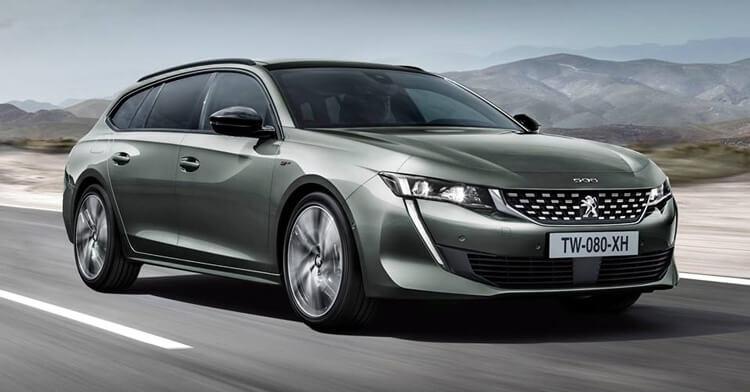 Thiet ke ngoai that Peugeot 508 2020