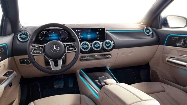 Thiet ke noi that Mercedes Benz GLA