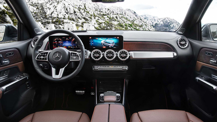 Thiet ke noi that Mercedes Benz GLB