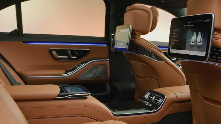 Thiet ke noi that Mercedes Benz S Class