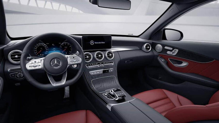 Thiet ke noi that Mercedes C Class