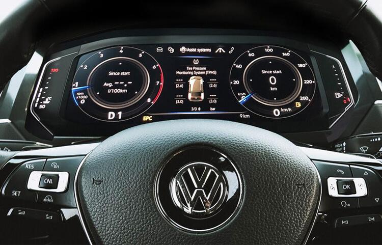 Thiet ke noi that Volkswagen Tiguan