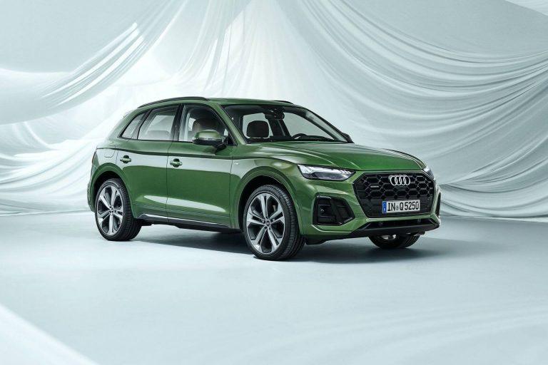 Audi Q5 2021 màu xanh lá hợp với mệnh Hỏa