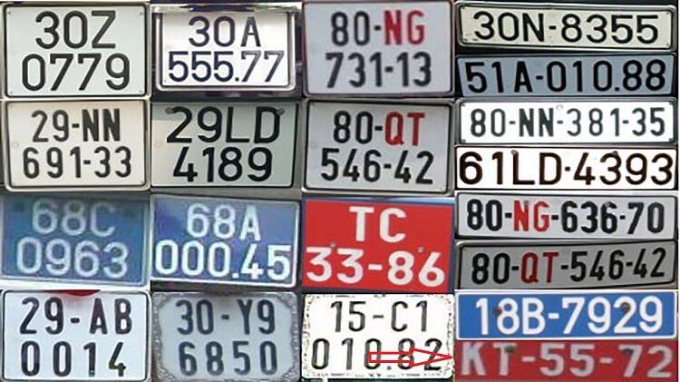 Biển số xe KT là gì và các ký hiệu đặc biệt khác