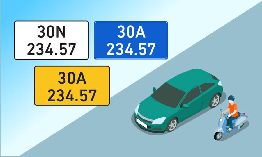 Đổi biển số xe ô tô