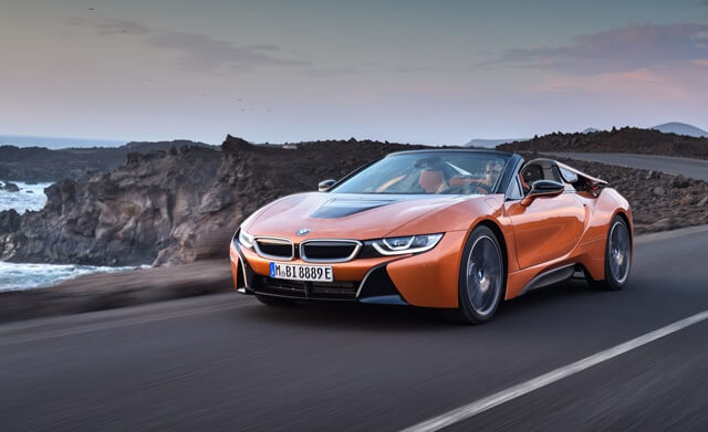 bmw i8 2020 dong co