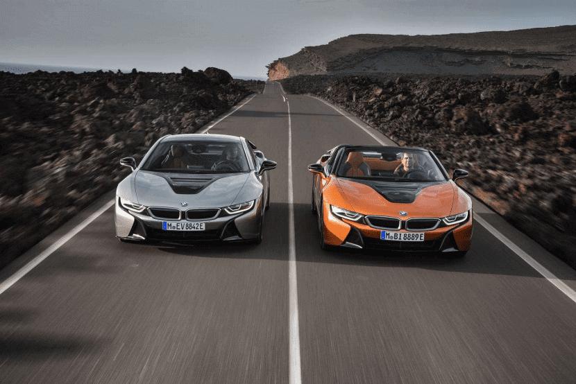 Giá BMW i8 2020 ngoại hình