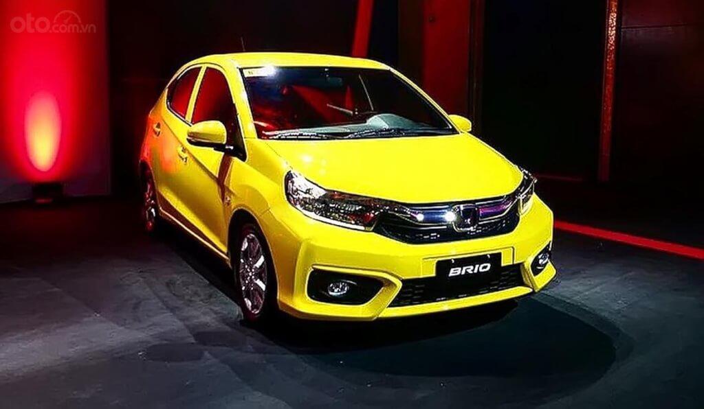 Honda Brio 2019 màu vàng dành cho người mệnh Kim
