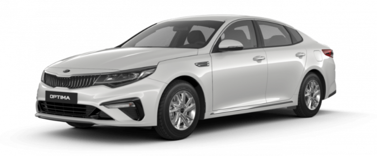 Kia Optima 2020 màu trắng hợp người mệnh Thủy