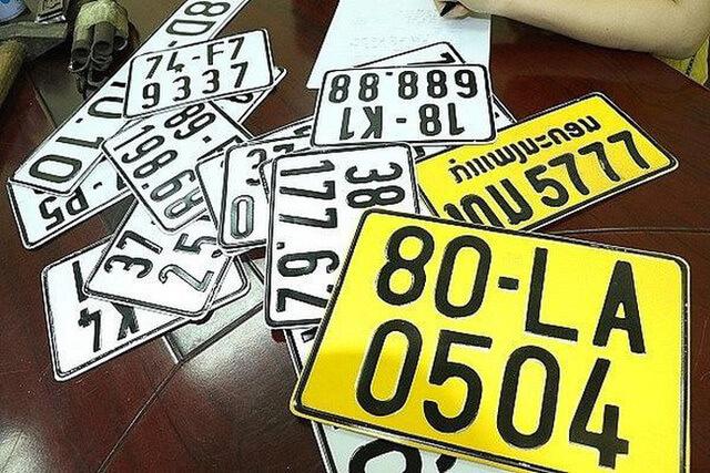 Lưu ý khi đổi biển số xe ô tô