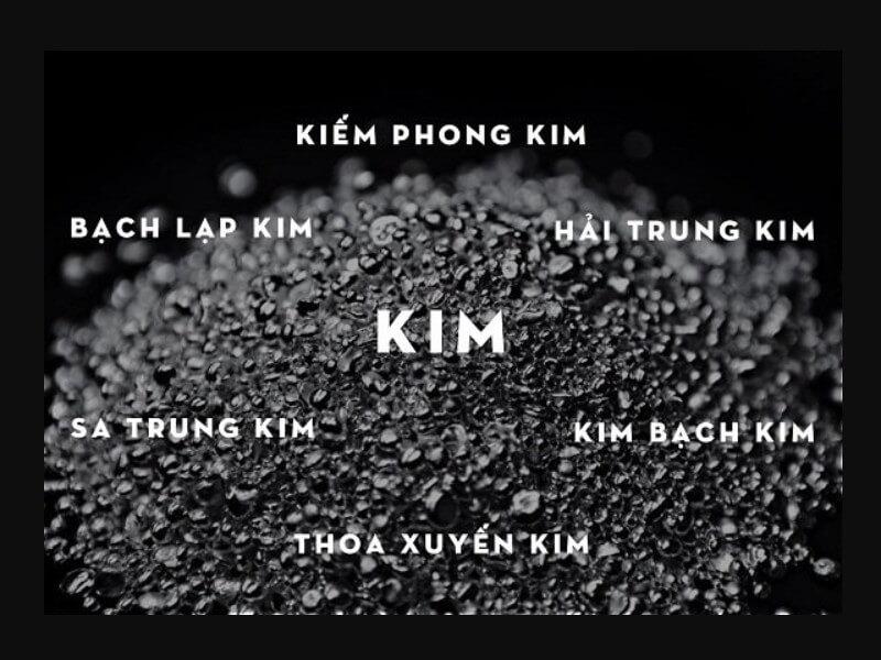 Mệnh Kim bao gồm những tuổi nào