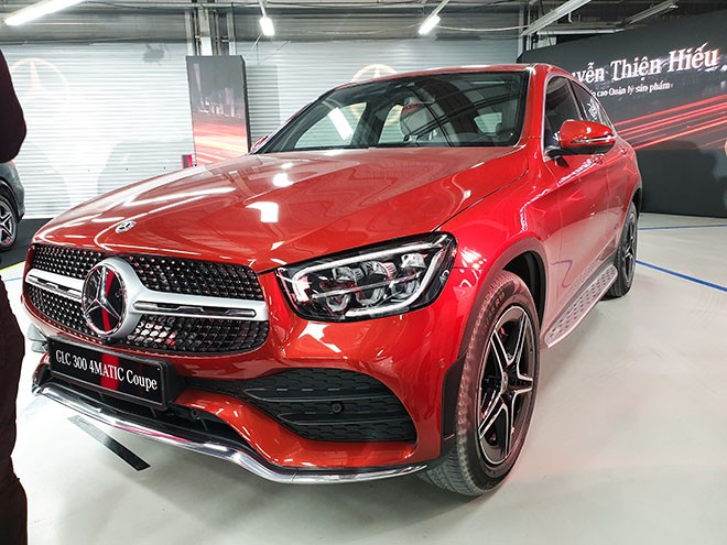 mercedes glc 300 4matic coupe
