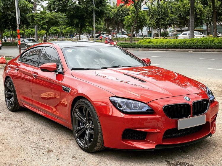 than xe BMW M6 Grand Coupe