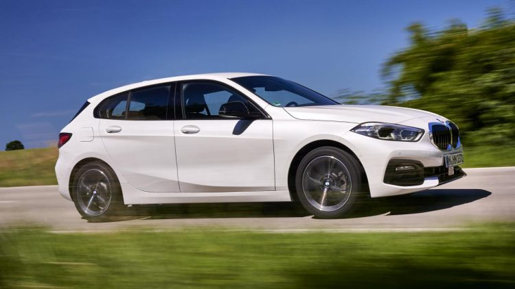 than xe BMW Series 1
