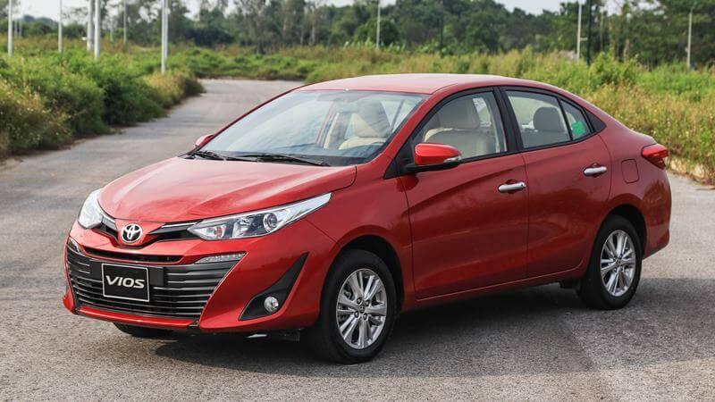 Toyota Vios 2020 hợp với người mệnh Thổ