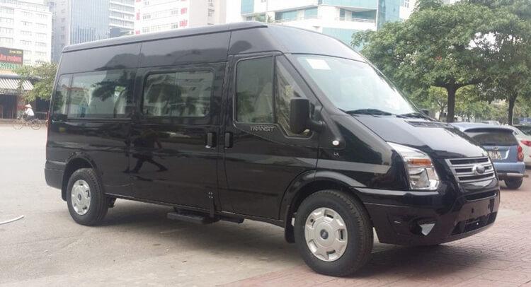 Gia Ford Transit moi nhat tai Viet Nam