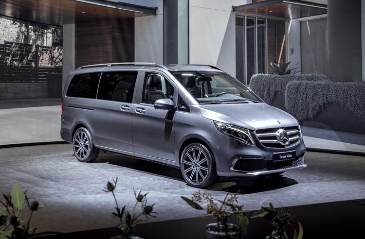Kha nang van hanh Mercedes Benz V Class