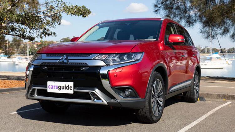 Trang bị an toàn Mitsubishi Outlander