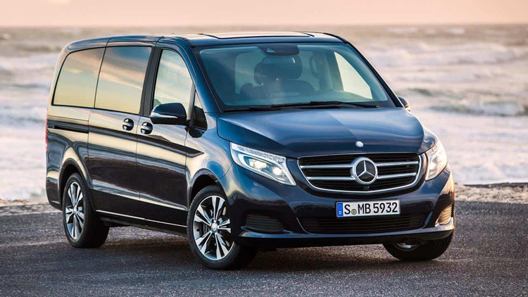 Mercedes Benz V Class chat luong cao