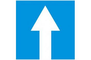 biển báo đường một chiều R407a di thang