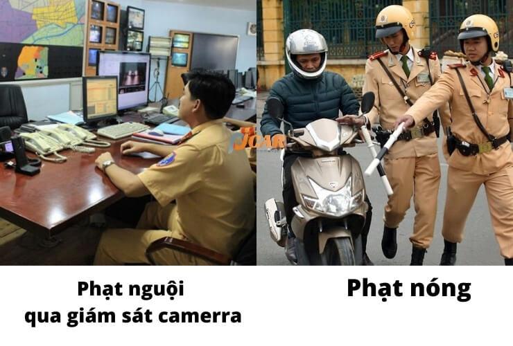 phat nguoi so sanh phat nong