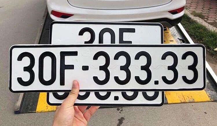 Biển số xe 5 số thế nào là đẹp