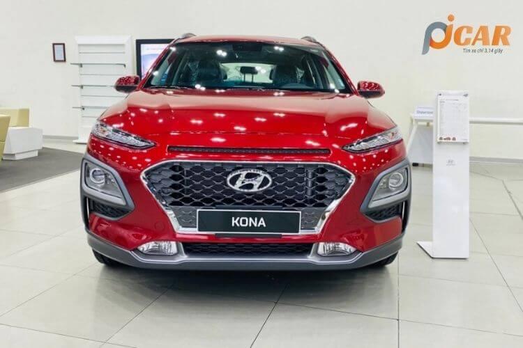 Đầu xe Hyundai Kona 2021