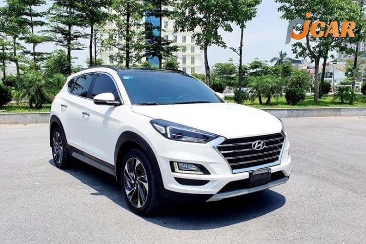 Đầu xe Hyundai Tucson 2021